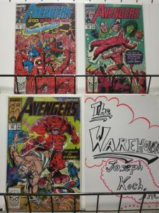 AVENGERS 305-307  vs The LAVA MEN !