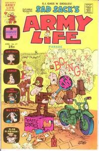 SAD SACKS ARMY LIFE (1963-1976) 57 VF+ April 1975 COMICS BOOK