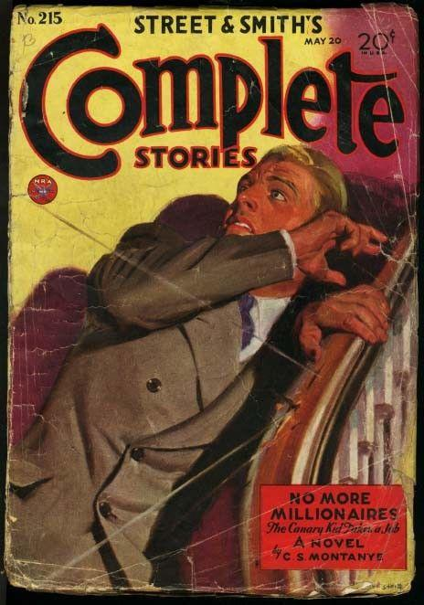 COMPLETE STORIES 1934 MAT 20-STREET AND SMITH PULP G+