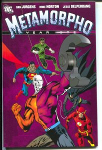 Metamorpho Year One-Dan Jurgens-2008-PB-VG/FN