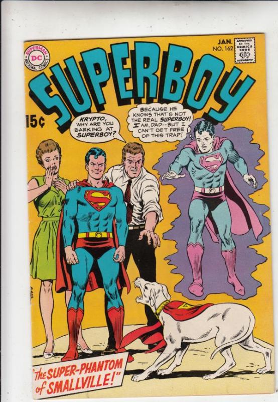 Superboy #162 (Jan-70) NM/NM- High-Grade Superboy