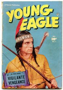 Young Eagle #7 1951- Golden Age Fawcett Western VG-