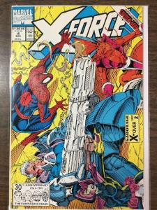 X-FORCE #4, NM, Juggernaut, Cable, ShatterStar, Nicieza, 1991, more XF in store