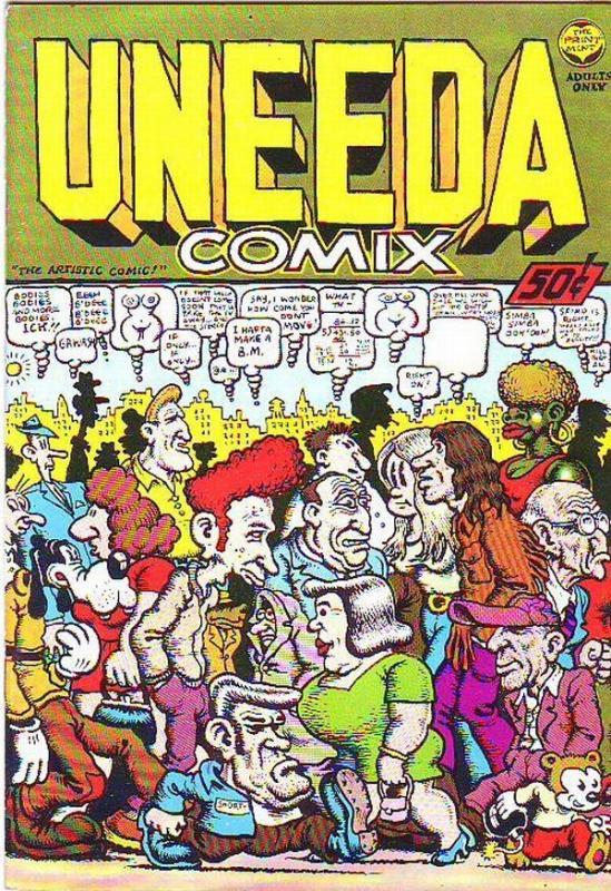 Uneeda Comix #1 (Jan-70) NM Super-High-Grade Mr. Natural, Flakey Foont, Shuma...