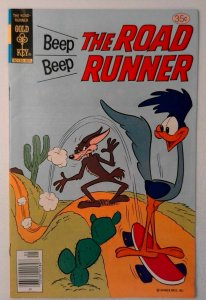 Beep Beep the Road Runner #71 Gold Key 1978 VF+ Bronze Age Comic Book 1st Print