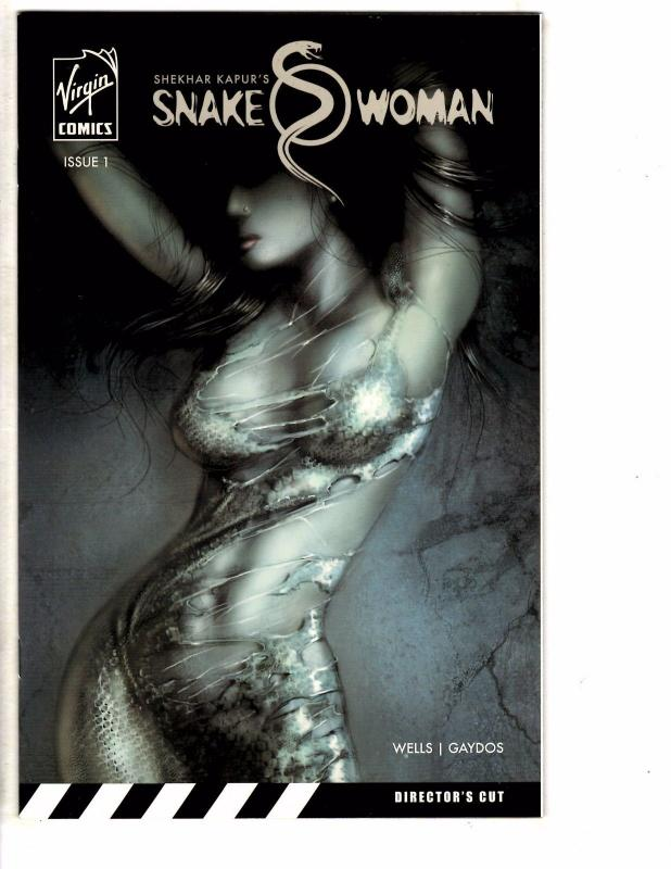 Shekhar Kapur's Snake Woman # 1 NM 1st Print Virgin Comics Director's Cut LH25