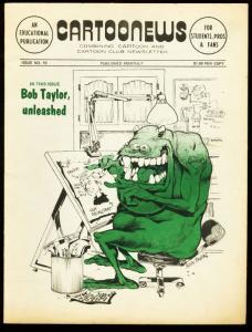 CARTOONEWS #10-1975-BOB TAYLOR-LITTLE NEMO VG