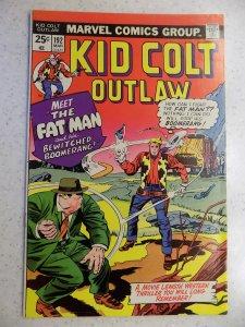 KID COLT OUTLAW # 192 MARVEL BRONZE WESTERN ACTION ADVENTURE GUN FN