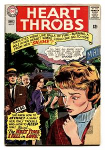 HEART THROBS #97 1965 DC-ROMANCE-CRYING COVER