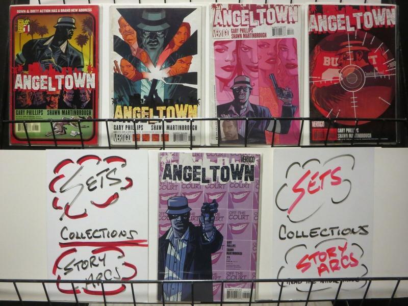ANGEL TOWN (2005 VERTIGO) 1-5  the complete series