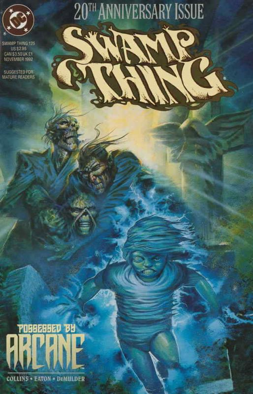 Swamp Thing (2nd Series) #125 FN; DC | save on shipping - details inside