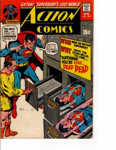 DC Action Comics (1938 Series) #399 April 1971 FN-