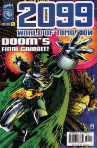 2099: World of Tomorrow #4 VF/NM; Marvel | save on shipping - details inside