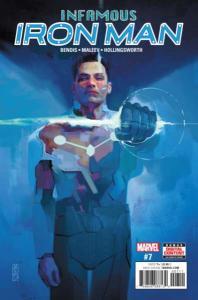 Infamous Iron Man #7, NM + (Stock photo)