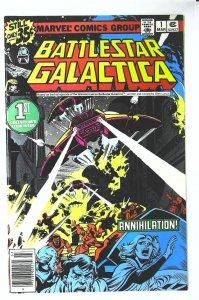 Battlestar Galactica (1979 series) #1, VF+ (Actual scan)