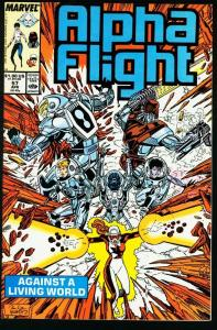 ALPHA FLIGHT #57-MARVEL COMICS-MUTANTS!-JIM LEE NM