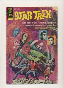 Gold Key STAR TREK #19 1973 (low grade)  (PF862)