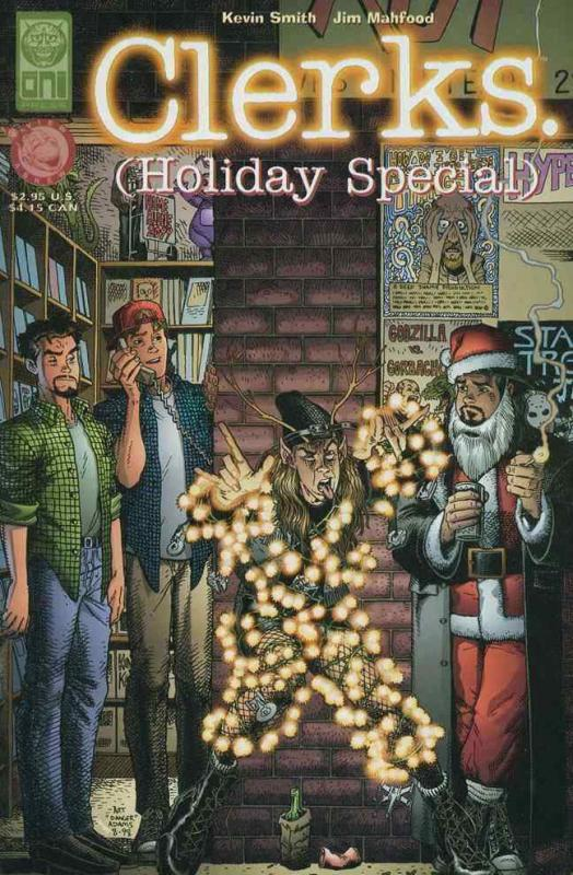 Clerks: The Comic Book Holiday Special #1 VF/NM; Oni | save on shipping - detail