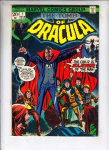 Tomb of Dracula #7 (Mar-73) FN+ Mid-High-Grade Dracula