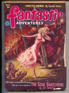 Fantastic Adventures-Pulp-5/1952-Lee Francis-John Fletcher-Guy Archette