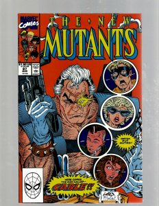 New Mutants # 87 NM- Marvel Comic Book X-Men Wolverine Cable X-Force SM19