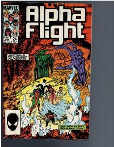 Alpha Flight #24 (1985)