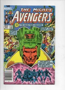 AVENGERS #243, VF/NM, Captain America, Vision, 1963 1984, Marvel, UPC