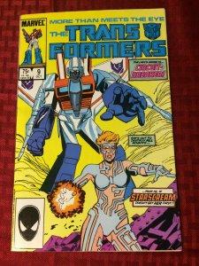 Transformers #9 1985 Circuit Breaker StarScream VF+ Optimus Prime