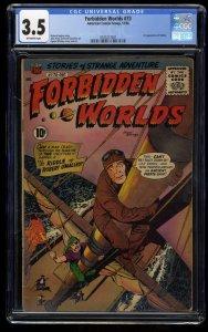 Forbidden Worlds #73 CGC VG- 3.5 Off White 1st Herbie!