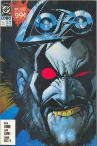 Lobo (1990 series) #1, NM (Stock photo)