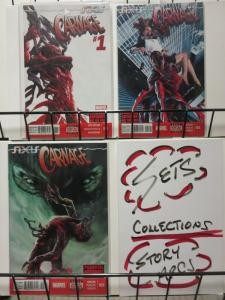 AXIS CARNAGE (2014) 1-3  Axis tie-in!  vs the Sin Eater