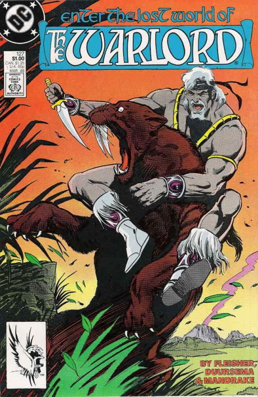Warlord (DC) #127 VF/NM; DC | save on shipping - details inside