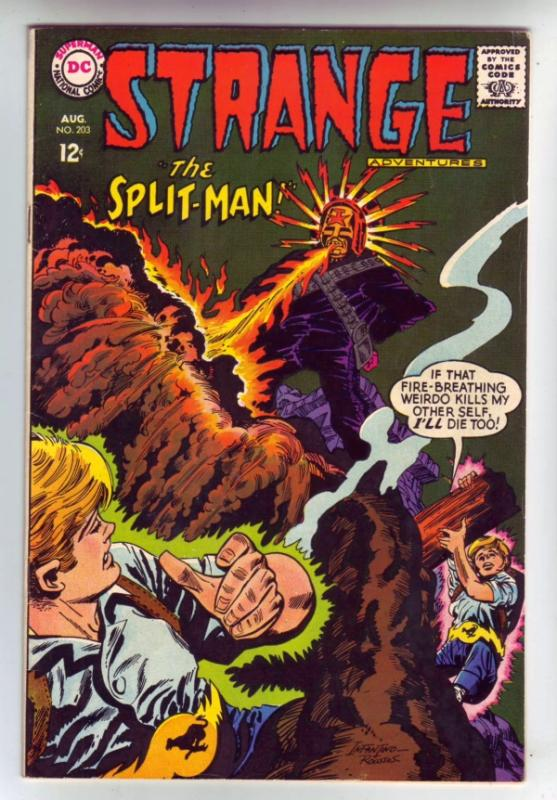 Strange Adventures #203 (Aug-67) VF/NM High-Grade The Split-Man