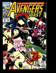12 West Coast Avengers Marvel Comics # 85 86 87 88 89 90 91 92 93(2) 94 95 GK6