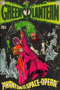 Green Lantern #72 (ungraded) stock photo