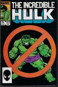 Incredible Hulk #317 (Marvel, 1986) NM-