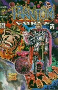 Phantom Force #3 VF/NM; Image | save on shipping - details inside
