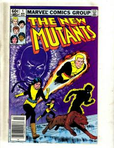 The New Mutants # 1 NM Marvel Comic Book X-Men Mutants Sunspot Wolverine JF23