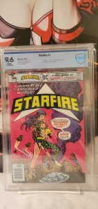 Starfire #1 (1976) Bronze Age 1st Issue CBCS 9.6 White Pages