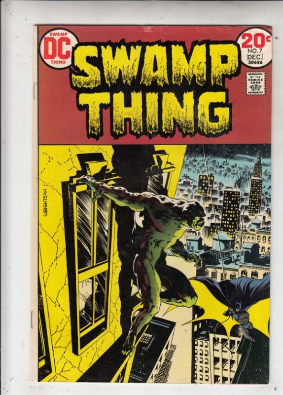 Swamp Thing #7 (Dec-73) VF- High-Grade Swamp Thing