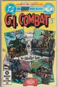G.I. Combat #250 (Feb-83) NM- High-Grade The Haunted Tank