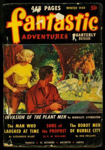 Fantastic Adventures Quarterly Pulp Winter 1949- Giant Size Sci-fi VG