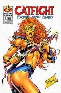 Catfight: Escape from Limbo #1A VF/NM; Lightning | save on shipping - details in