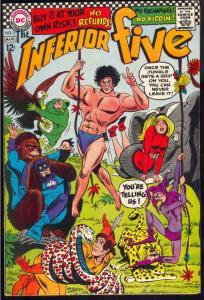Inferior Five #3 (Aug-67) VF High-Grade Inferior Five (Merry Man, Dumb Bunny,...