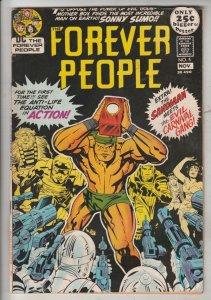 Forever People #5 (Nov-71) NM- High-Grade Big Bear, Beautiful Dreamer, Serifi...