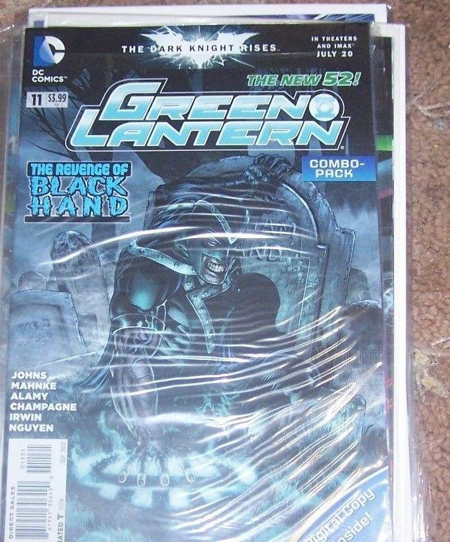 GREEN LANTERN #  11 COMBO PACK EDITION . NEW 52 BLACK HAND