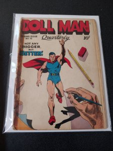 DOLL MAN QUARTERLY #12 GOOD READER GRADE EARLY TORCHY
