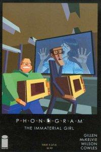 Phonogram (2015 series) #5, NM- (Stock photo)
