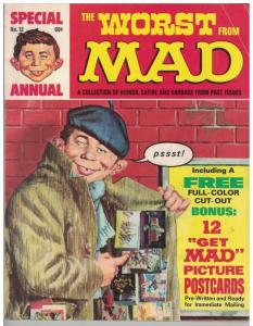 WORST FROM MAD  12  VG+ 1969