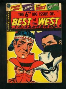 BEST OF THE WEST #6 1953-GHOST RIDER-DURANGO-HOLT-STRAIGHT ARROW-good plus G+
